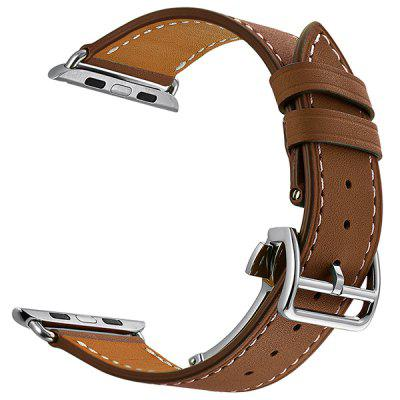 Men's Folding Buckle Strap for Apple Watch 42mm