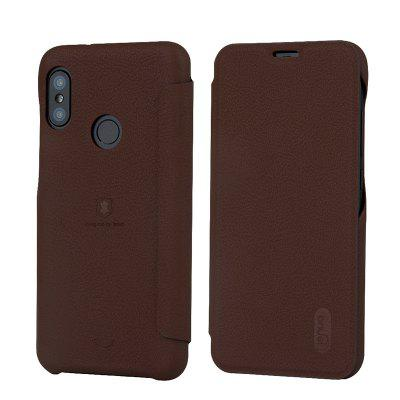 LENUO Scratch-resistant Flip Phone Case for Xiaomi Redmi 6 Pro