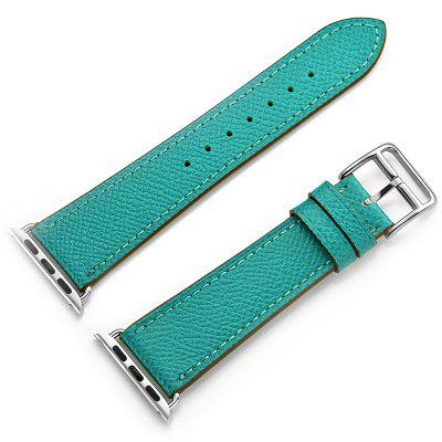 Solid Color Leather Women's Strap for Apple Watch 38mm