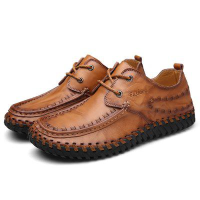 Personalidade Casual Handmade Leather Shoes for Man