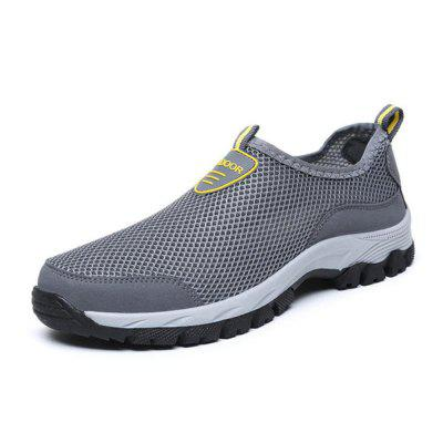Simple Breathable Mesh Cloth Casual Shoes for Men