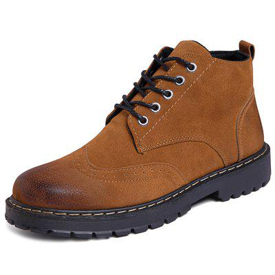 Botas Casuais de Camurça Martin Boots for Men
