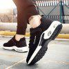 Autumn Winter Fashion Casual Cushion Running Shoes for Man - WHITE