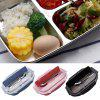 Stainless Steel Heat Preservation Mess Tin Lunch Box for Kitchen - RED