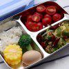 Stainless Steel Heat Preservation Mess Tin Lunch Box for Kitchen - BLUE