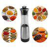 Creative Domestic Electrical Solid Seasoning Grinder - SILVER