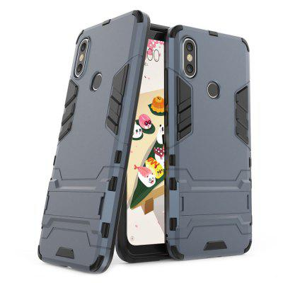 ASLING 2 in 1 Protective Stand Bumper Case for Xiaomi Mi A2