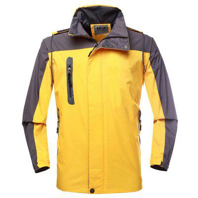 Breathable Waterproof Windbreak Hooded Sports Jacket
