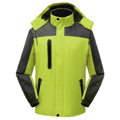 Respiră impermeabil Windbreak Hooded Sports Jacket