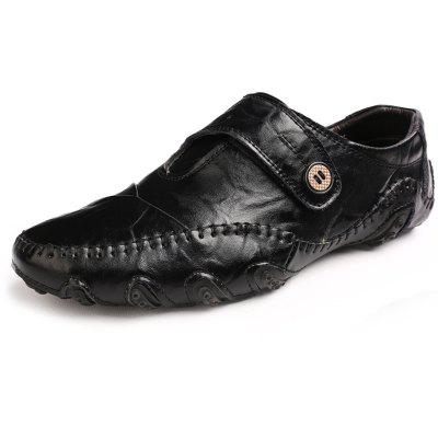 Men Slip-on Flat Casual Leather Shoes