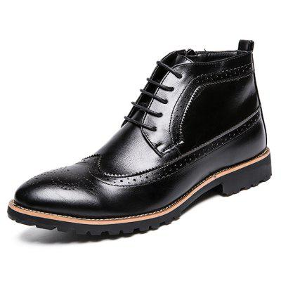 High-top Brock Boots for Man