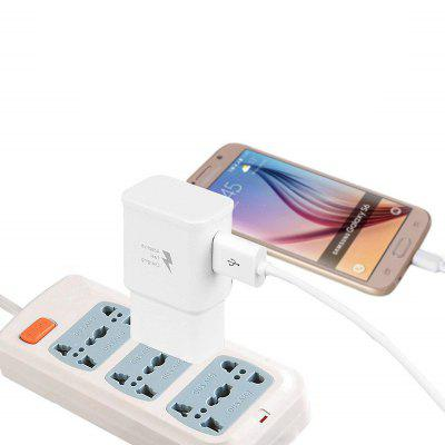 Travel Quick Charger Wall Adapter con cavo Micro USB 3 in 1 Type-C 8 pin