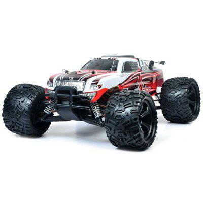 P104 1/10 2.4G 4WD 25km/h RC Car 550 Brushed Big Foot Off-road Truck RTR