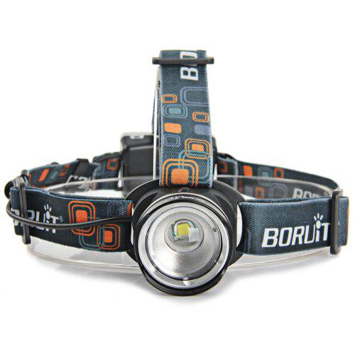 First Dental 3W Portable LED Headlight Clip-on Type Adjustable Headlamp with Filter Silver