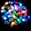 Cores diferentes LED Twinkle Balloon Lamp para Holiday Decoration 50pcs - MULTI