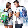 Creative Outdoor Leisure Printing Anti Theft Backpack - MULTI-A