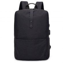 a4c7820e7a0 58% OFF Trendy Stripe Business Laptop Backpack with USB Port