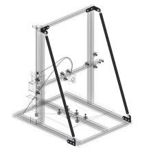 Aluminium Profile 3D Printer Z Axis Accessories 65cm from Gearbest