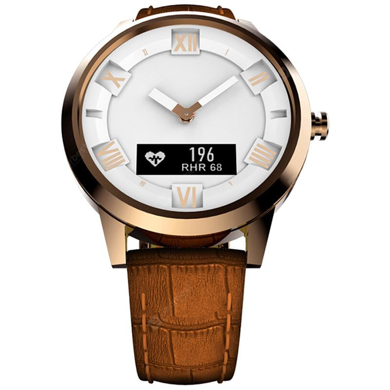 """Lenovo Watch X Plus Bluetooth Waterproof Smartwatch - Copper"""