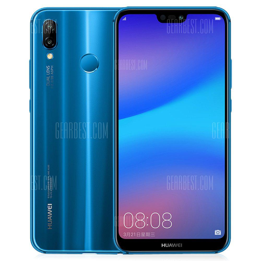HUAWEI Nova 3e 4 + 64GB International Version