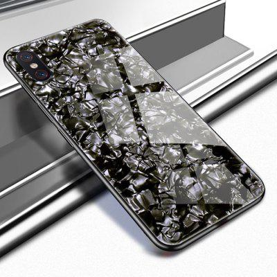 Luanke Dirt-proof TPU Tempered Glass Case for Xiaomi Mi 8 Explorer Edition