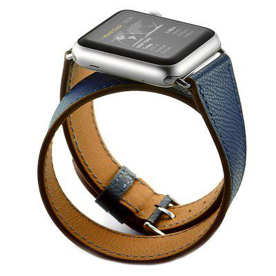 38mm Double Circle Palmprint Female Strap for Apple Watch