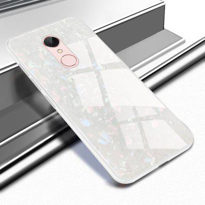 Luanke Dirt-proof TPU Tempered Glass Case for Xiaomi Redmi 5