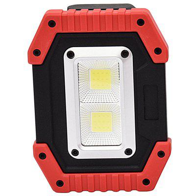 gm805 LED Light Lantern for Camping Outdoor Floodlight RED