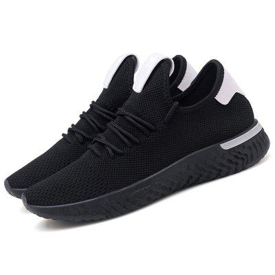 Flying Woven Wild Student Mesh Casual Shoes for Man