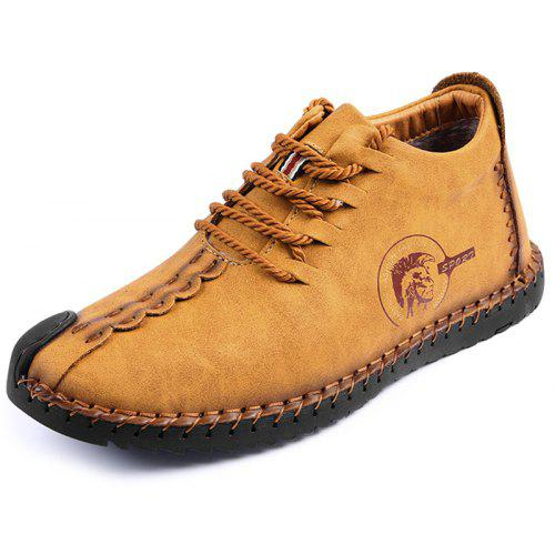 Men Comfortable Leisure Durable Casual Leather Shoes
