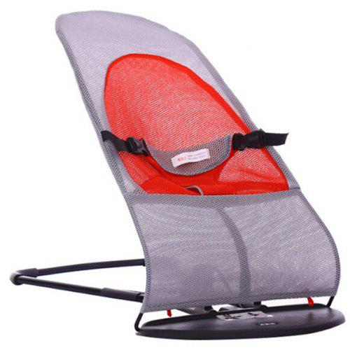 Remarkable Baby Rocking Chair Double Mesh Folding Cradle Squirreltailoven Fun Painted Chair Ideas Images Squirreltailovenorg