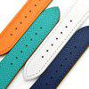 Two Laps Design Leather Men's Strap for Apple Watch 42mm - ORANGE