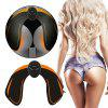 Stylish Electric Hips Muscle Trainer - BLACK