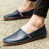 Leisure Lightweight Slip-on Breathable Flat Casual Shoes - BLUE JAY
