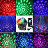 3W RGB LED Ball Shape Stage Light - BLACK