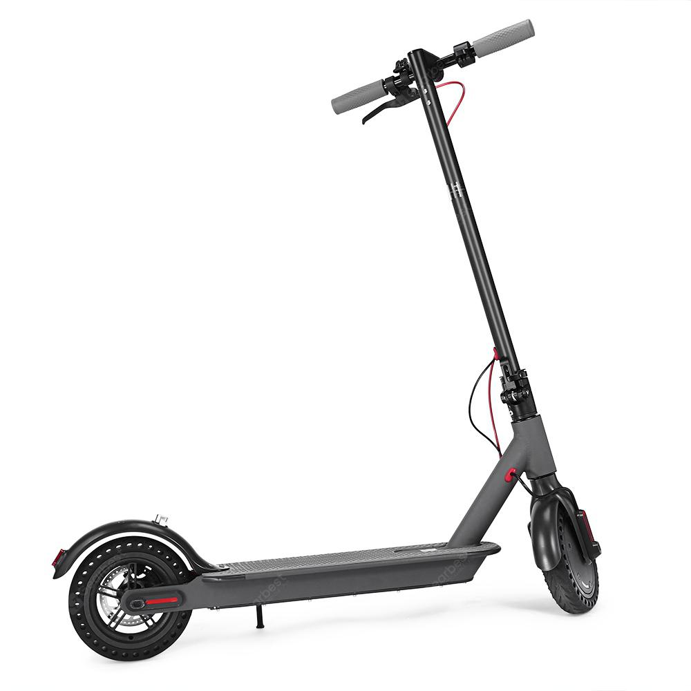 T0 Shockproof Folding Electric Scooter - BLACK