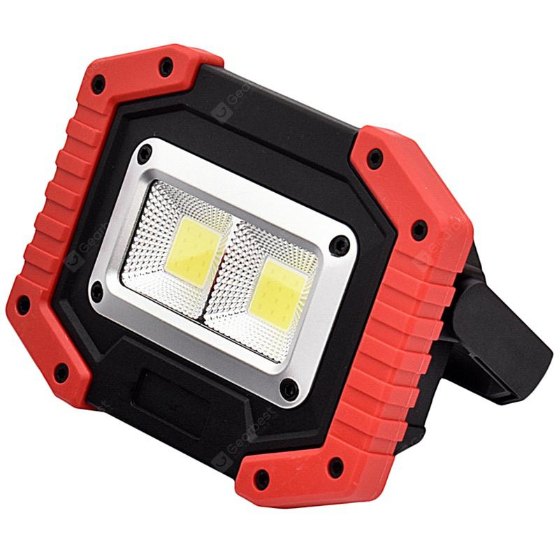 gm805 LED Light Lantern for Camping Outdoor Floodlight - RED