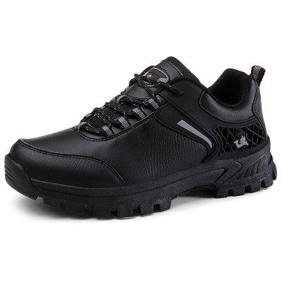 Outdoor Waterproof Comfortable Lace-up Hiking Shoes