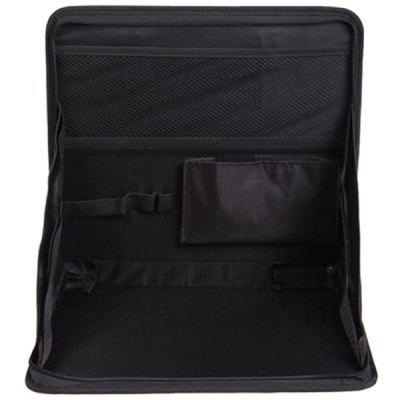 Oxford Cloth Folding Notebook Car Onboard Desk Back Debris Bag