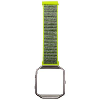Nylon Watch Strap and Stainless Steel Watch Case for Fibit Blaze