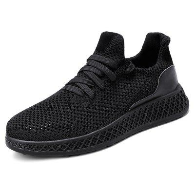 Men Mesh Fabric Casual Athletic Sports Shoes Sneakers