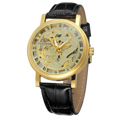 Forsining Fashion Vintage Mechanical Watch for Man