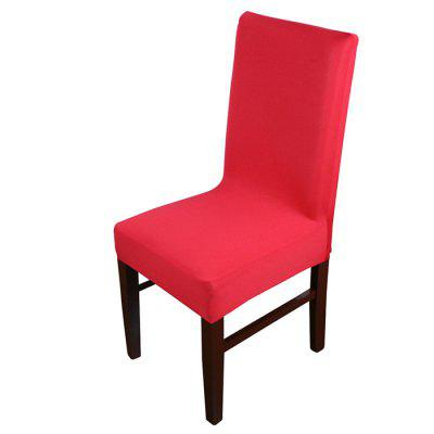 Solid Color Chair Cover for Home Hotel