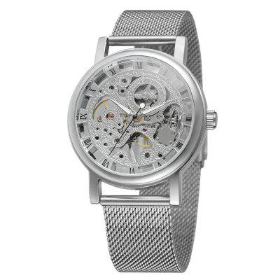 Winner W036 Mechanical Watch with Stainless Steel Band