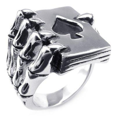 Punk Style Zinc Alloy Finger Ring for Men