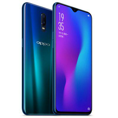 Gearbest OPPO R17 4G Phablet English and Chinese Version - BLUE IVY 8GB RAM 128GB ROM 5.0MP + 16.0MP Rear Camera Fingerprint Sensor