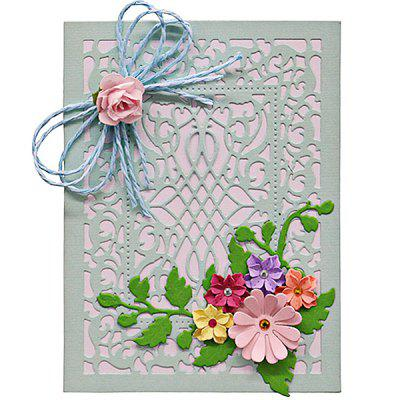 Hollowed Post Card Shape Pattern Cutting Die