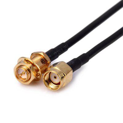 RP-SMA Male to RP-SMA Female Connector Pigtail Cable WiFi Router Antenna Extension Cable
