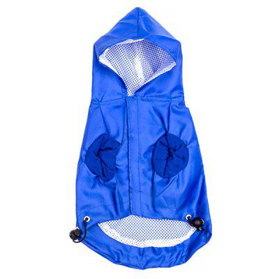Dog Hooded Raincoat Pet Clothes