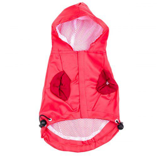 Dog Hooded Raincoat Pet Clothes 6 17 Free Shipping Gearbest Com